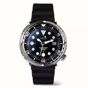 [佑祐時尚]海米德潛水錶 罐頭錶 機械錶 運動錶 水鬼(非seiko精工錶 oris豪利時)