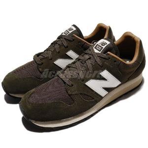 【六折特賣】New Balance 復古慢跑鞋 520 NB 綠 白 復古奶油底 麂皮 運動鞋 男鞋 女鞋【PUMP306】 U520BGD
