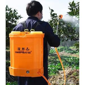 智慧鋰電充電果樹打藥機背負式高壓農藥噴霧器農用電動噴霧器QM 依凡卡時尚