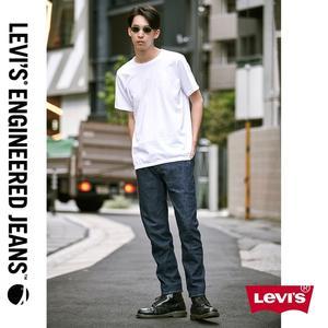 Levis 男款 上寬下窄 / 512低腰修身牛仔褲 / LEJ 3D褲 / 海報款