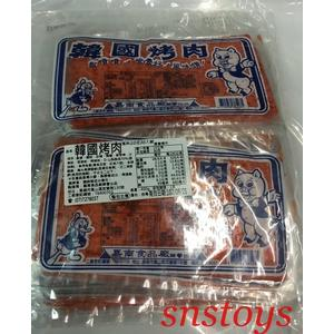 sns 古早味 懷舊零食 魚片 鐵板燒 韓國烤肉片 韓國烤肉 香魚片 四角魚片(30片/盒)