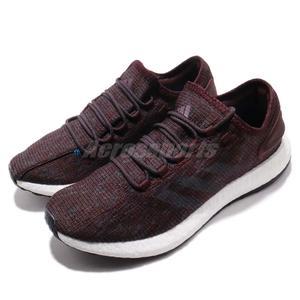 adidas 慢跑鞋 PureBOOST 紅 藍 舒適緩震 編織鞋面 男鞋 運動鞋【PUMP306】 CM8301