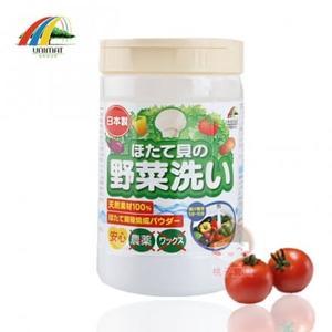 【日本UNIMAT】100%天然扇貝殼粉 蔬果清潔洗淨劑_100g~安全素材 安心清洗‧日本製✿桃子寶貝✿