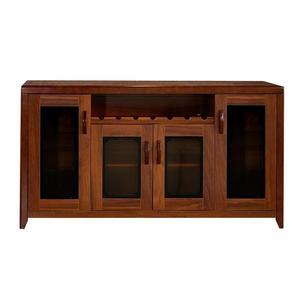 中式實木餐邊櫃現代簡約大容量餐廳酒櫃茶水櫃客廳收納櫃廚房碗櫃