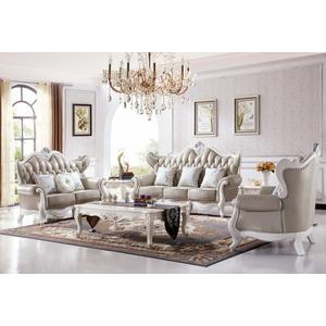 【大熊傢俱】A75 玫瑰系列 歐式皮沙發 多件沙發組 美式皮沙發 歐式沙發 雕花