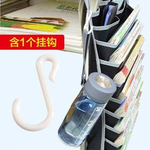[超豐國際]學生學習掛書袋桌子書本掛袋 課桌收納神器創意書桌收納