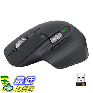 [8美國直購] 鼠標 Logitech MX Master 3 Advanced Wireless Mouse - Graphite