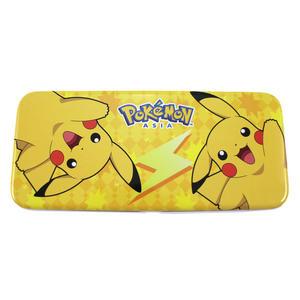 【卡漫城】 皮卡丘 雙層 鐵筆盒 閃電 ㊣版 鐵製 鉛筆盒 Pikachu Pokemon 神奇寶貝 寶可夢 文具盒