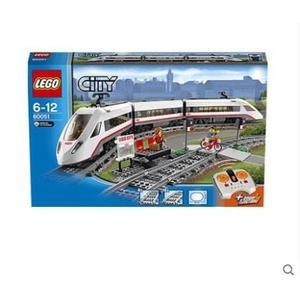 LEGO城市繫列高速列車60051益智拼裝積木玩具 LX 居家