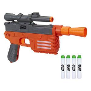 NERF兒童射擊玩具 孩之寶Hasbro 星際大戰外傳 韓索羅 電子聲光射擊器 E2108