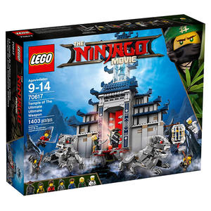 樂高LEGO 忍者終極兵器神殿 旋風忍者電影系列NINJAGO MOVIE 70617