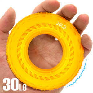 按摩30LB輪胎握力圈.矽膠30磅握力器握力環.指壓按摩握力球.硅膠筋膜球.訓練手指力手腕力