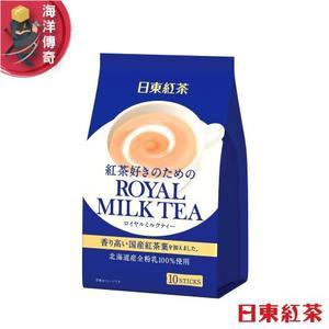 【海洋傳奇】【日本出貨】日東紅茶 日東奶茶 皇家奶茶 沖泡奶茶包 10入【6袋組】