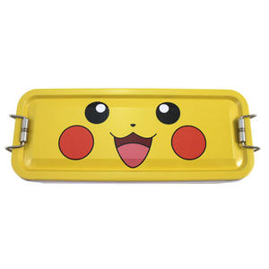 【卡漫城】 皮卡丘 三層 鉛筆盒 ㊣版 鐵製 精靈 寶可夢 神奇寶貝 Pokemon 鐵筆盒 文具盒 Pikachu