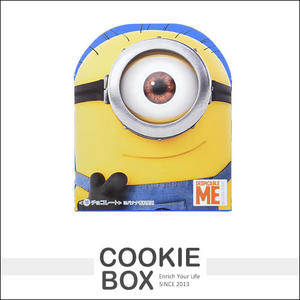 【即期品】日本 Furuta 古田 小小兵 迷你兵團 香蕉 巧克力 46g 糖果 零食 *餅乾盒子*