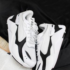 【現貨折後$2680】CLASSICK- PUMA RS-X CORE RSX 黑 白 老爹鞋 復古 泫雅 長腿 神器 休閒 369666-01
