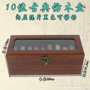 手鐲盒翡翠金銀手鐲玉鐲收納展示盒木質首飾盒高檔珠寶箱 水晶鞋坊