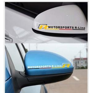 vw R後視鏡貼 貼紙 polo scirocco cc beetle golf gti t5 caddy 沂軒精品 A0224