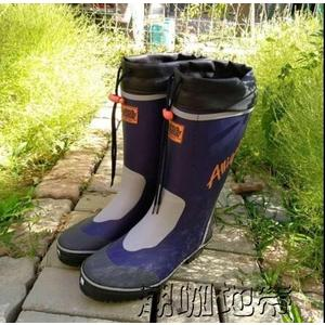 時尚男士冬季高筒雨鞋雨靴釣魚鞋橡膠鞋高筒磯釣鞋水鞋防滑登山鞋