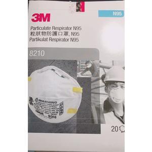 3M N95 醫用口罩 (未滅菌) N95口罩(8210) 20入/盒【艾保康】