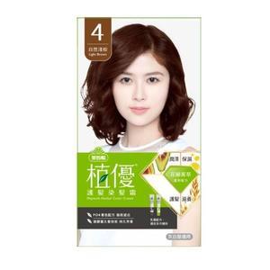 美吾髮植優護髮染髮霜- 4 自然淺棕【康是美】