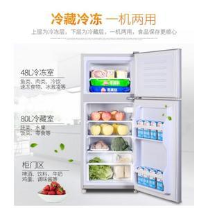 迷你冰箱小型家用雙門式三開門小冰箱冷藏冷凍節能宿舍電冰箱 創想數位 igo