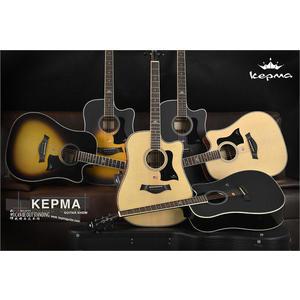小叮噹的店- 電木吉他 kepma吉他 A1CE D1CE  41吋 雲杉木吉他 彈唱初學木吉他公司貨