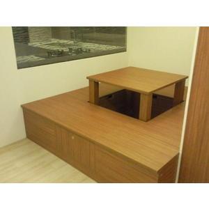 歐雅系統家具 廚具  系統櫃 收納和室地板 可當麻將桌使用 EGGER 180CM*180 E1V313 塑合板
