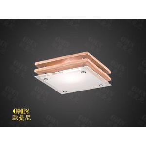 吸頂燈★ 方の木藝生活 吸頂燈 ♥燈具燈飾專業首選♥♥歐曼尼♥日式和室風