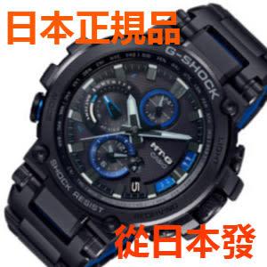 新品 日本正規品 CASIO 卡西歐 G-SHOCK MT-G 已安裝藍牙 太陽能電波手錶 男士手錶 MTG-B1000BD-1AJF