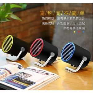 【H00930】繽紛色彩!REMAX 酷炫風 桌面 USB 風扇 F20 2檔調速 觸碰式開關