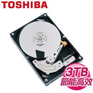 [富廉網] TOSHIBA 東芝 DT01ABA300V 3TB 3.5吋 32M快取 SATA3影音監控硬碟