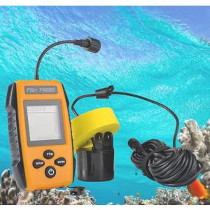 有線探魚器探測器釣魚聲納超音波魚群探測器