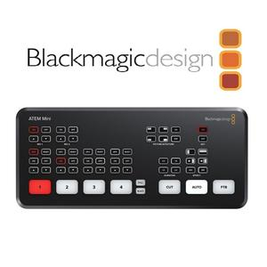 BlackMagic Design ATEM Mini 迷你型導播機 【公司貨】專為YouTube Live及Skype商務演講所設計現場製作切換台
