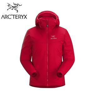 Arc'teryx 始祖鳥 Atom AR Hoody 化纖保暖外套 女款 石榴紅 #14664