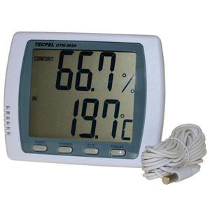 泰菱電子◆室內外二用大型顯示溫濕度計/溫度計DTM-303A TECPEL