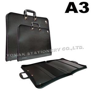 YOMAK HY603 A3 作品袋/美術作品袋/掛圖袋/作品袋/畫冊收集袋/圖袋/建築圖袋