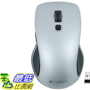 [106美國直購] Logitech 滑鼠 Wireless Mouse M560 - Light Silver
