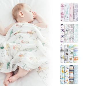 美國 aden + anais 輕柔新生兒包巾4入(迪士尼聯名款)/禮盒/彌月(5款可選)