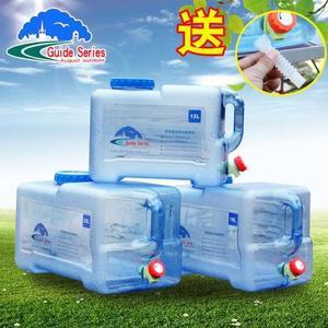 戶外飲用純凈水桶PC食品級裝礦泉水桶塑料儲水箱車載家用儲水桶 ℒ酷星球
