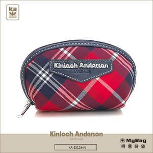 Kinloch Anderson 金安德森 皮夾 英式學院  紅/藍 經典格紋女夾 零錢包  KA151211 MyBag得意時袋