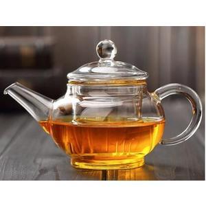 玻璃壺玻璃茶具靈秀壺 耐高溫加厚玻璃 250ML 功夫小茶壺
