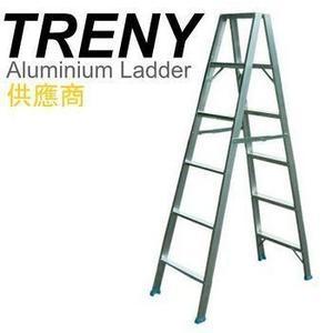 [家事達] 寶島6階鋁製輕型梯-6尺 六階鋁梯(可荷重70kg)