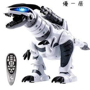 禮物兒童遙控恐龍玩具電動智慧戰龍霸王龍玩具Y-2407
