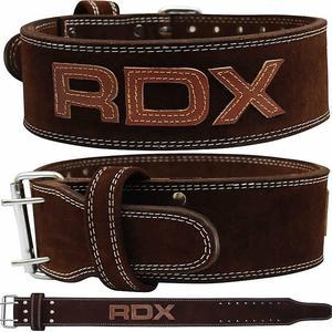 【線上體育】RDX 舉重腰帶 POWER 棕色 RDX063