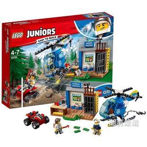 樂高積木樂高小拼砌師10751警察山地大追擊LEGO積木玩具xw