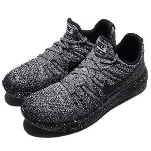 8c5b38726d5a  四折特賣 Nike 慢跑鞋Wmns LunarEpic Low Flyknit 2 黑灰雪花