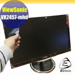 【Ezstick】優派 ViewSonic VX2457-mhd 24吋寬 靜電式LCD液晶螢幕貼 (可選鏡面或霧面)