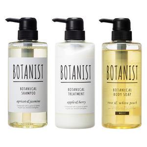 日本BOTANIST 獨家限量 洗髪潤髪沐浴三件組