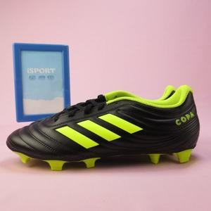 【iSport愛運動】adidas 愛迪達 COPA 19.4 FG 足球釘鞋 正品 BB8091 男款 黑x螢光黃